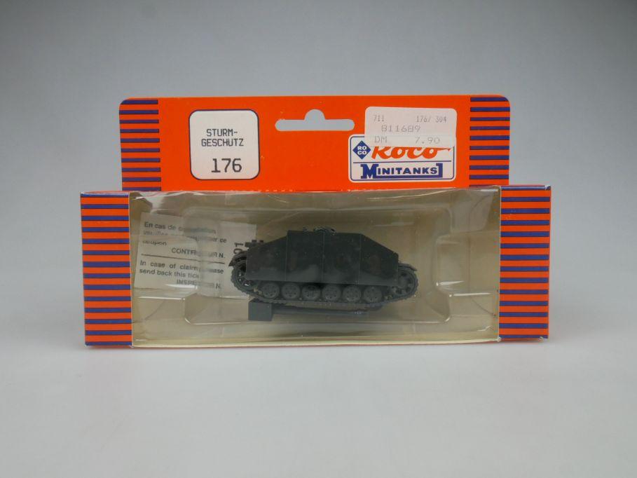 Roco 1/87 H0 Sturmgeschütz 176 Wehrmacht Minitanks Tank Militär w/Box 112891