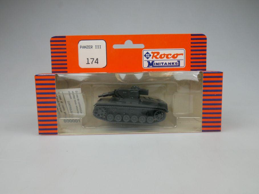 Roco 1/87 H0 Panzer III 174 versch. OVP! Wehrmacht Minitanks w/Box 112894