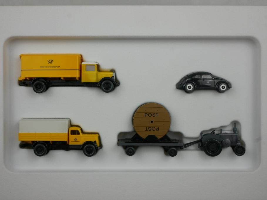 Wiking 1/87 PMS Mercedes VW Opel Lanz 1950 Gründung Post 2000 81-08 w/Box 112900