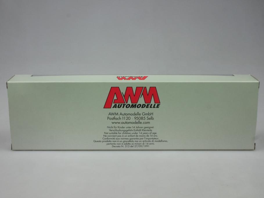 AWM 1/87 H0 MAN T6410A Deutsche Post DHL Hängerzug Container 73010 w/Box 112927