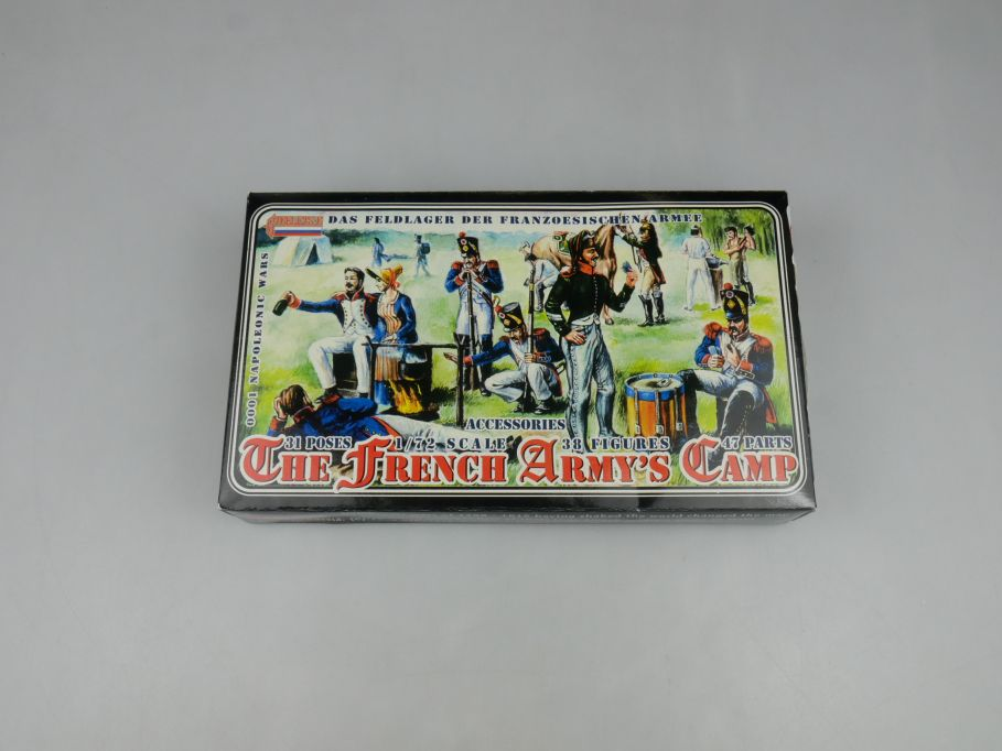 Strelets 1/72 0001 Napoleonic Wars French Camp Figure kit w/Box 112970