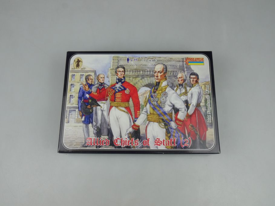 Strelets 1/72 0011 Napoleonic Wars Allied Chiefs Figure kit w/Box 112972