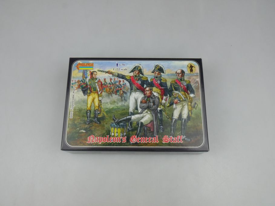 Strelets 1/72 0013 Napoleonic Wars General Staff Figure kit w/Box 112973