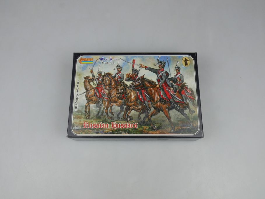 Strelets 1/72 0019 Napoleonic Wars Russian Hussars Figur kit w/Box 112976