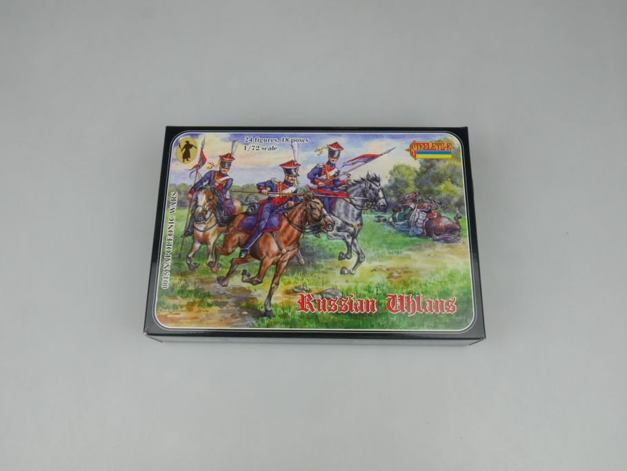 Strelets 1/72 0015 Napoleonic Wars Russian Uhlans Figur kit w/Box 112975