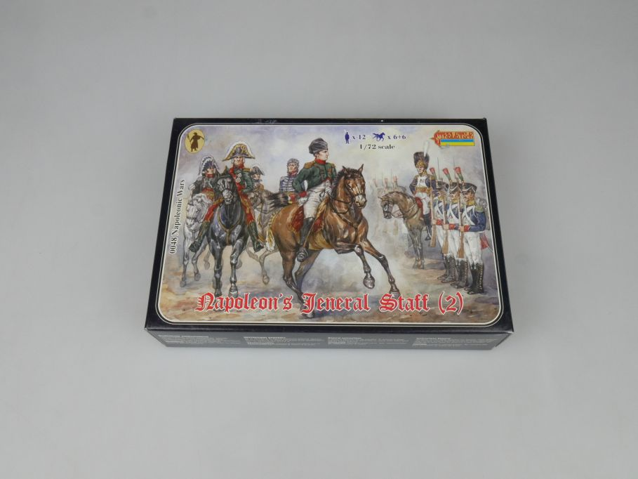 Strelets 1/72 0048 Napoleonic Wars General Staff Figur kit w/Box 112978