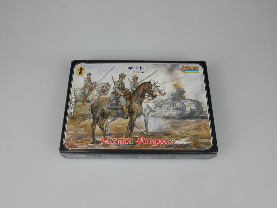 Strelets 1/72 0045 World War German Dragoons Figur kit w/Box 112980