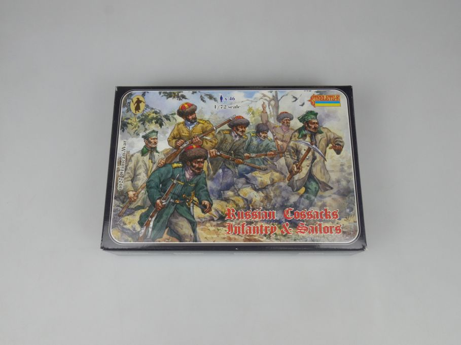 Strelets 1/72 0027 Crimean War Russian Cossacks Infantry Figur kit w/Box 112982
