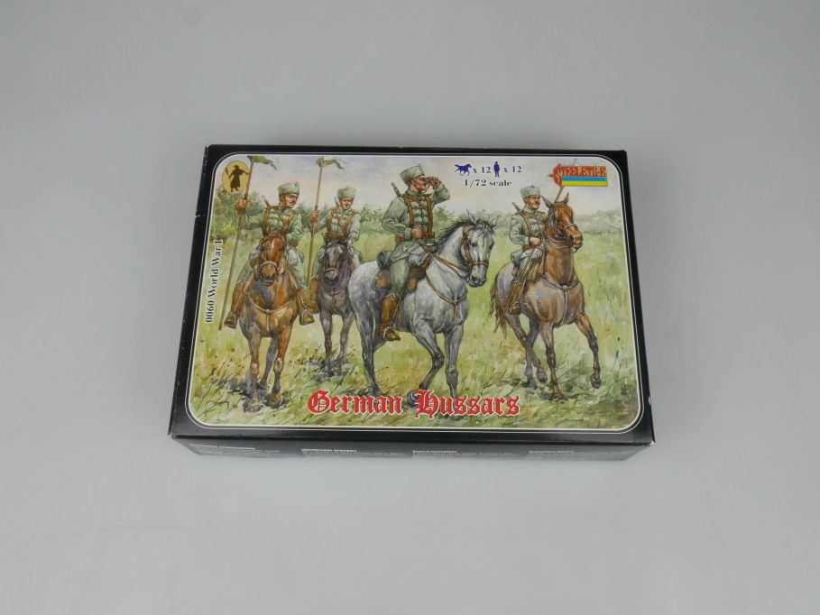 Strelets 1/72 0060 World War I German Hussars Figur kit w/Box 112984