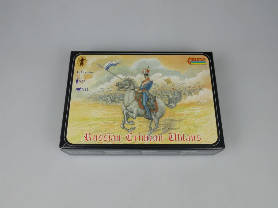 Strelets 1/72 0061 Russian Crimean Uhlans Figur kit w/Box 112988