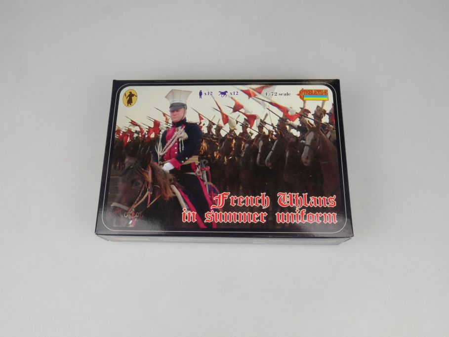 Strelets 1/72 102 French Uhlans in Summer Uniform Figur kit w/Box 112992