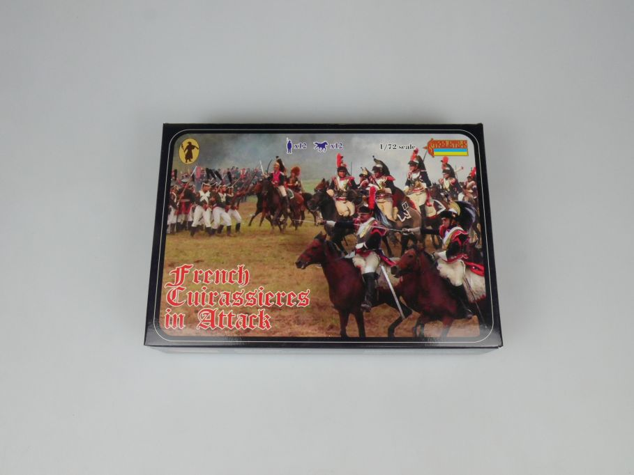 Strelets 1/72 105 French Cuirassiers in Attack Figur kit w/Box 112993