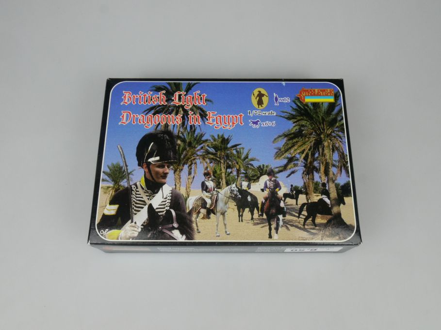 Strelets 1/72 119 British Light Dragoons in Egypt Figur kit w/Box 112995