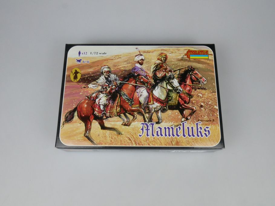 Strelets 1/72 120 Mameluks Figur kit w/Box 112996