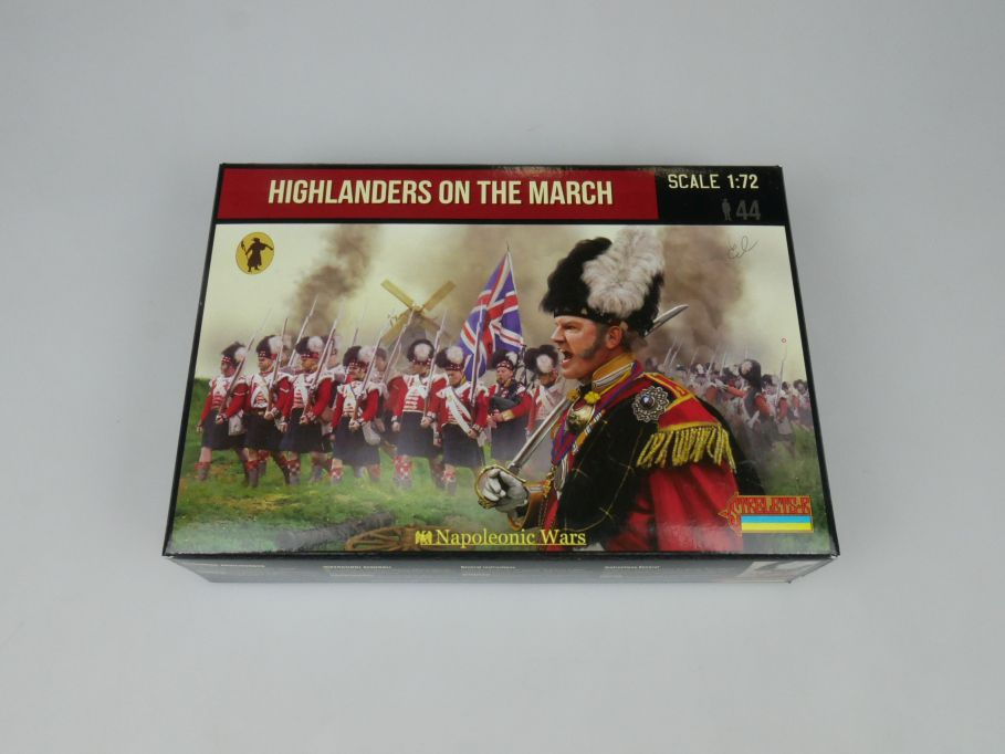 Strelets 1/72 140 Napoleonic War Highlanders on the March Figur kit w/Box 112999