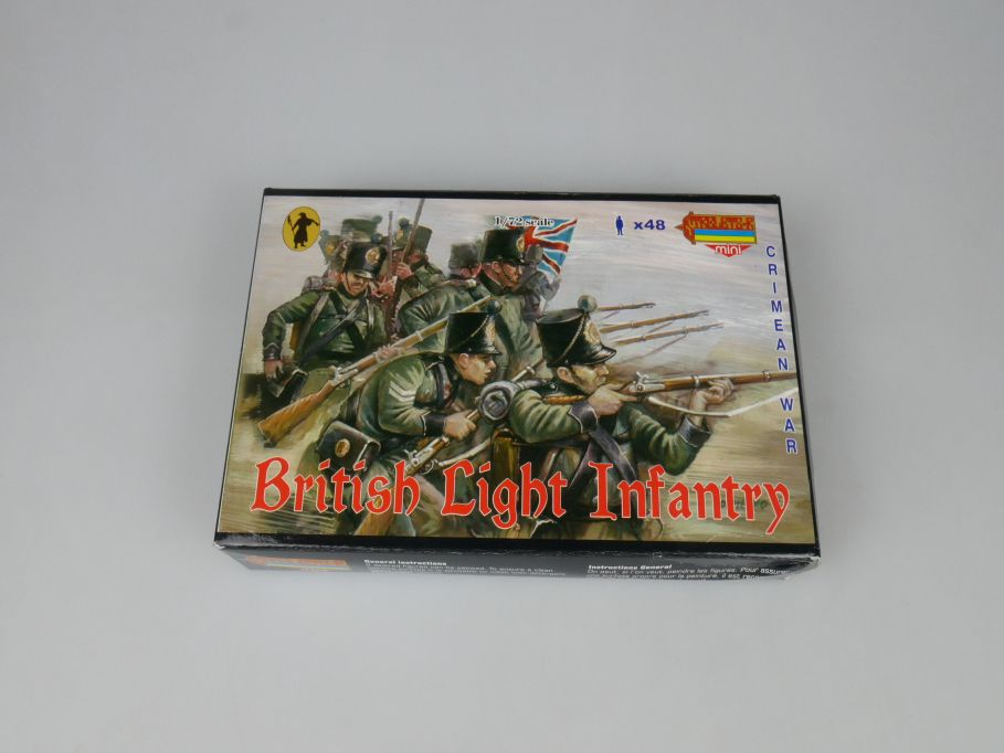 Strelets 1/72 M030 Crimean War British Light Infantry Figur kit w/Box 113007