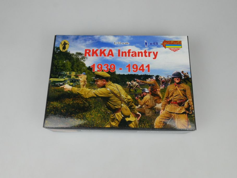 Strelets 1/72 M031 RKKA Infantry 1939-1941 Figur kit w/Box 113008