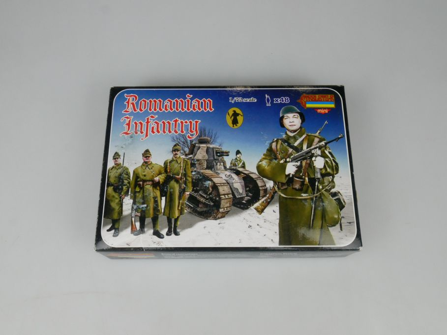Strelets 1/72 M061 Romanian Infantry Figur kit w/Box 113011