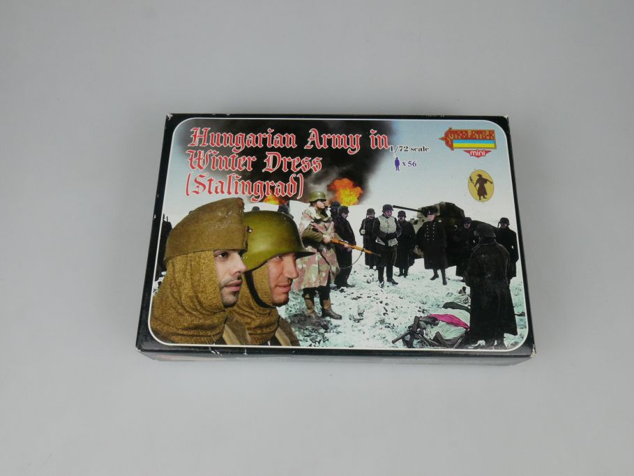 Strelets 1/72 M082 Hungarian Army Winter Dress Stalingrad Figur kit w/Box 113018
