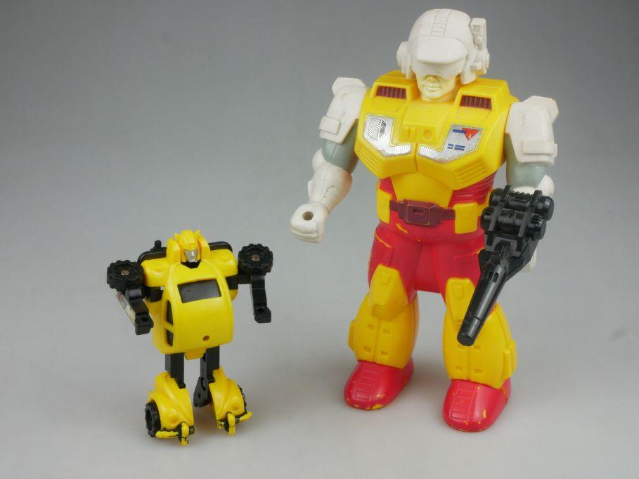 80s toy Hasbro - Transformers G1 Pretender Bumblebee Macau 1989 vintage 112921
