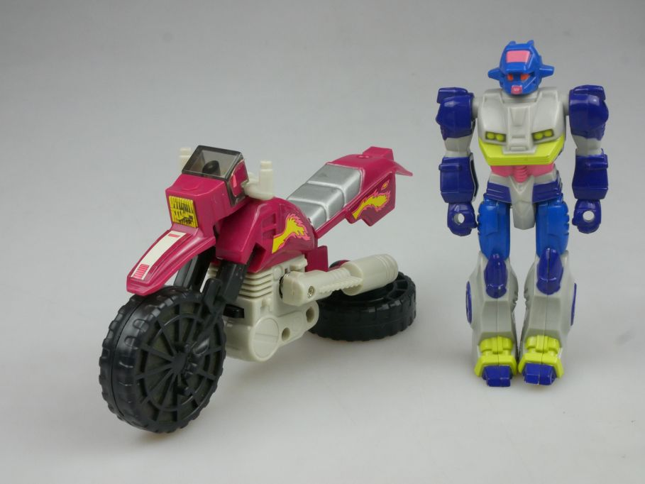 vintage Hasbro - Transformers Action Masters Axer with Cycle 80s/90s 112923