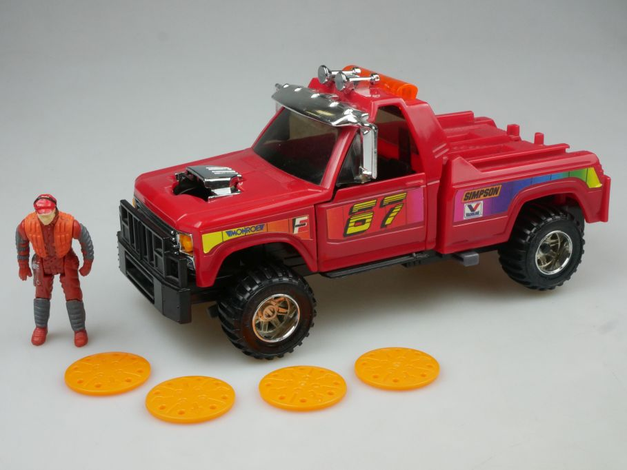Kenner Parker toys M.A.S.K. Wildcat truck Pick Up Action Clutch Hawks 113039
