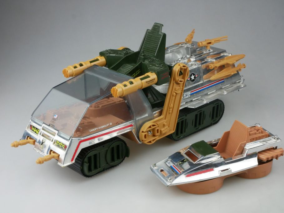 Sky Havoc Action Force Chrome vehicle Gi Joe 80s toys Hasbro 113042