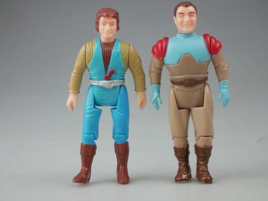 Dino Riders Magnus und Gunnar Action Figuren figures 1980´s Tyco Toys 113044