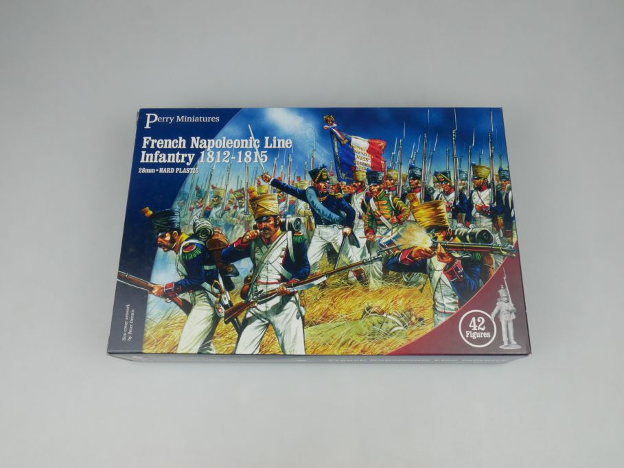 Perry Miniatures French Napoleonic Line Infantry 42 Figures 28mm kit 113664