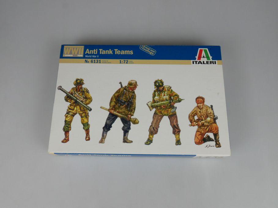 Italeri 1/72 Anti Tank Teams World War II WW2 32 Figuren kit 6131 + Box 113340