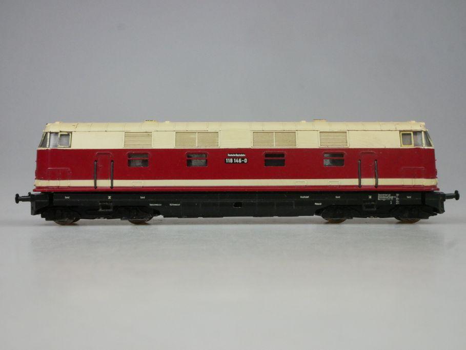 Spur TT BTTB BR 118 146-0 der DR Diesellok Lok 1/120 113348