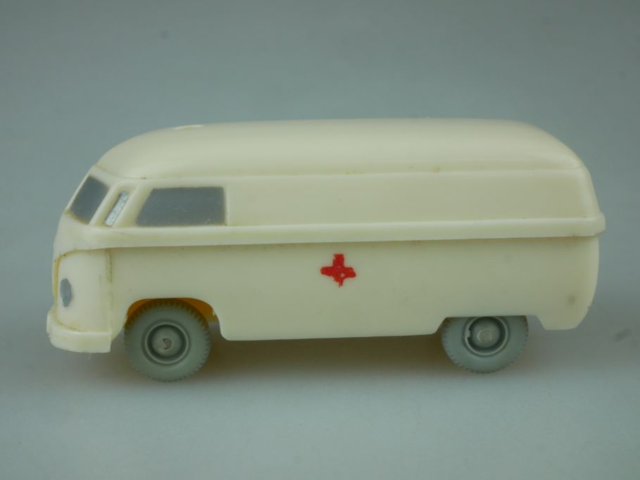 Wiking UV H0 Saure 257 257/6 Krankenwagen VW Kasten Typ 4 cremeweiß 1/87 113361
