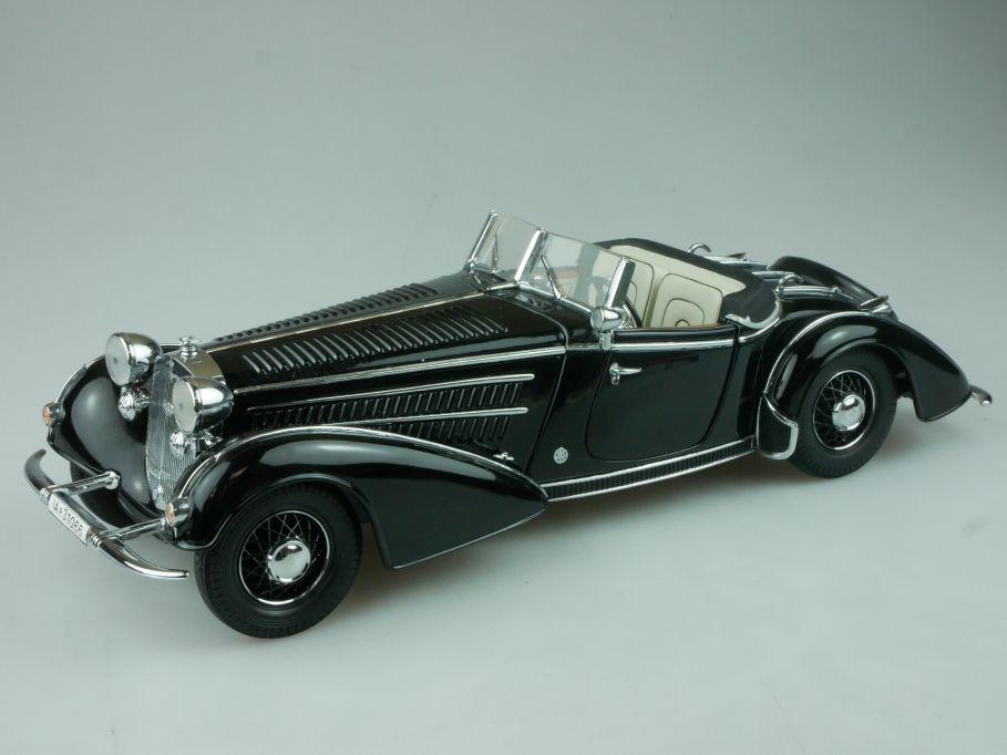 Sun Star 1/18 1938 Horch 855 schwarz diecast Modell Auto model 113553