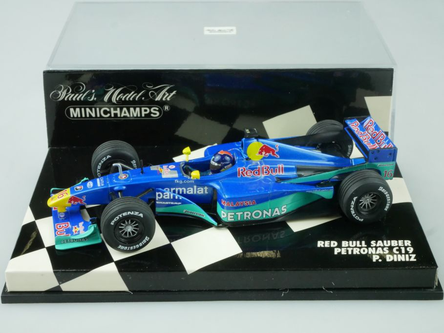 Minichamps 1/43 F1 Red Bull Sauber Petronas C19 P Diniz 430000016 Vitrine 113671