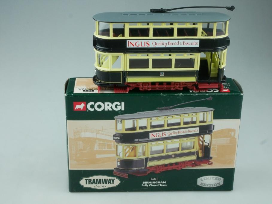 Corgi Classic Tram 36711 BIRMINGHAM Fully Closed Tram in Box - 113711