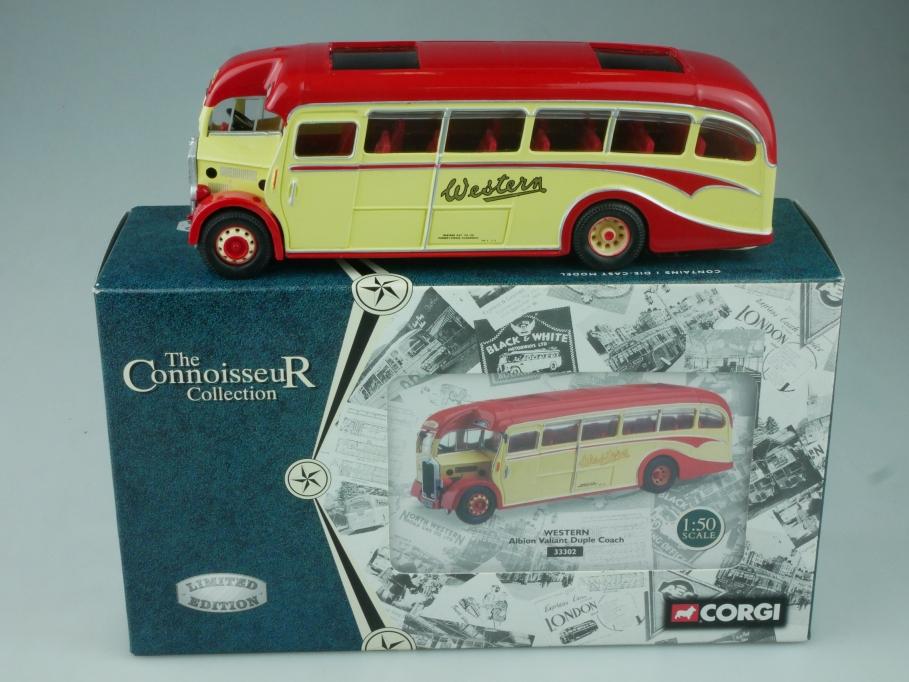 Corgi 1/50 Bus 33302 WESTERN Albion Valiant Duple Coach Box - 113714