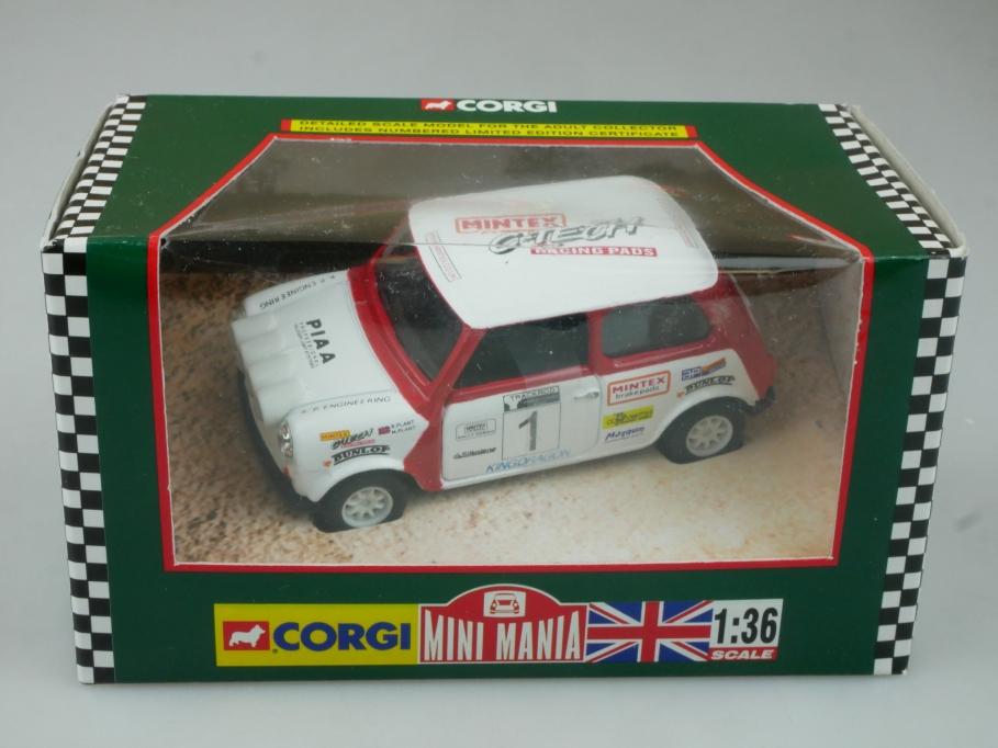 Corgi 1/36 Mini Mania 04426 Mintex National Rallye 1998/99 Box 113720