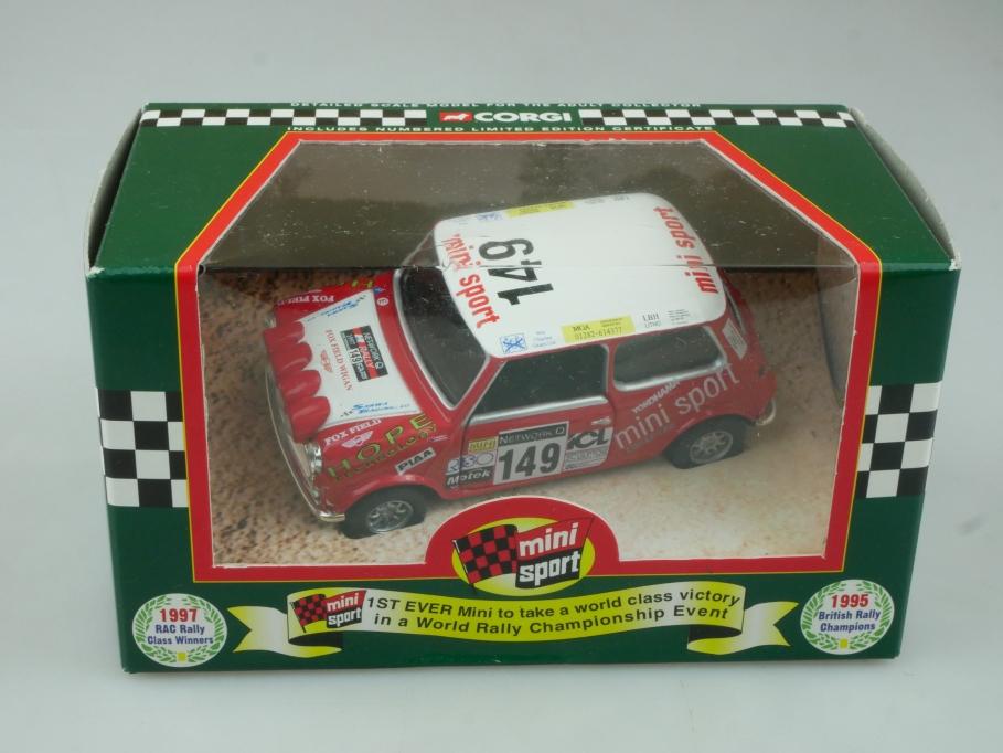 Corgi 1/36 Mini Mania 04427 RAC Rallye 1997 in Box - 113721