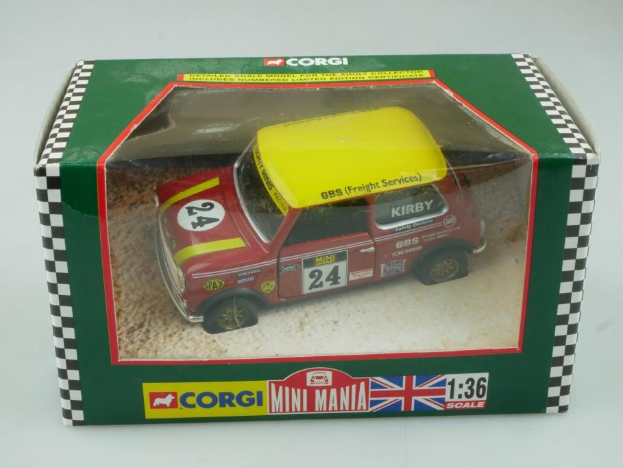 Corgi 1/36 Mini Mania 04429 Mighty Minis Racing J. Kirby Box - 113722