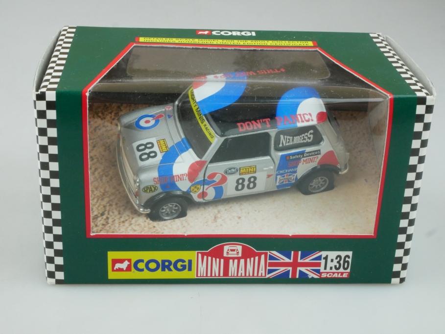 Corgi 1/36 Mini Mania 04434 Mighty Minis Racing N. Burgess Box 113726