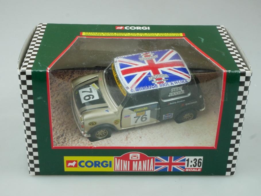 Corgi 1/36 Mini Mania 04437 Mighty Minis Racing S. Jenner Box - 113727