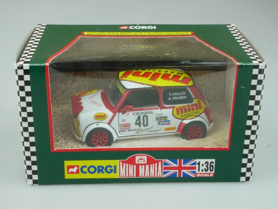 Corgi 1/36 Mini Mania 04506  Mighty Minis Racing T. Colley Box 113729