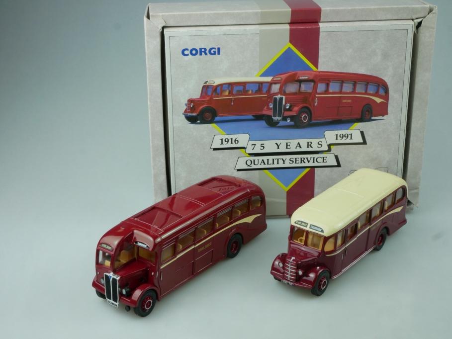 Corgi 75 Years East Kent AEC REGAL Bedford OB in Box - 113755