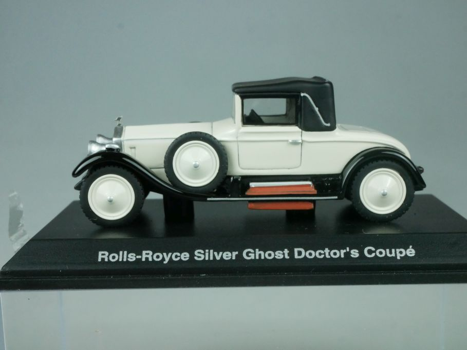 BoS Models H0 1920 Rolls-Royce Silver Ghost Doctor´s Coupe 87150 Vitrine 113828