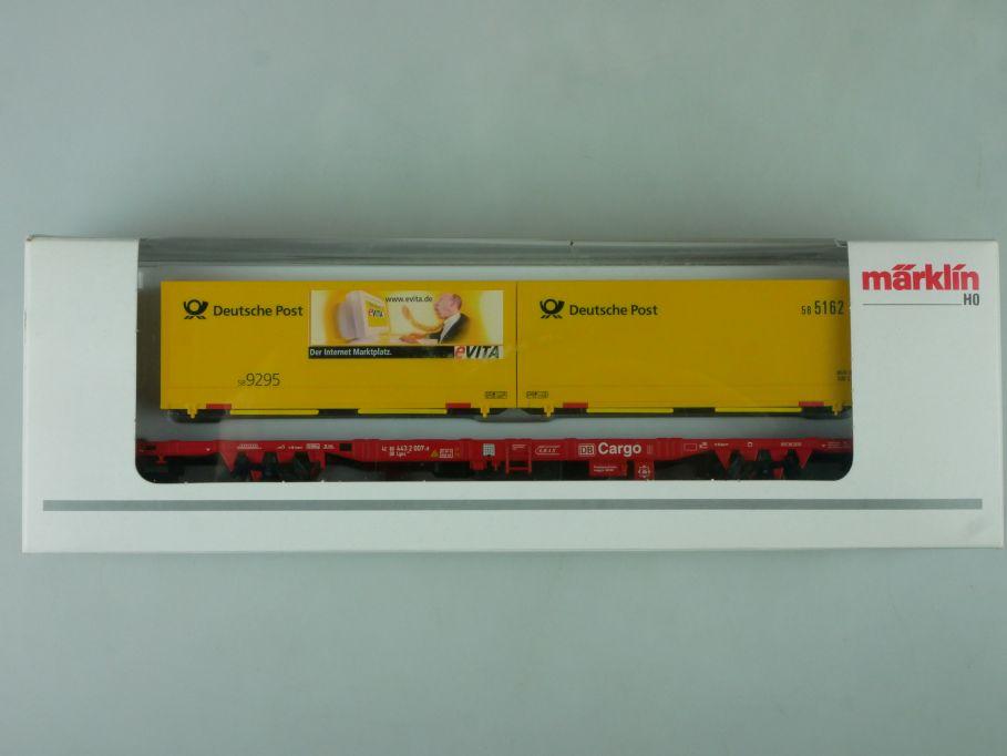 Märklin H0 PMS 60-04 Postmuseumswagen 2000 Deutsche Post 47708 + Box 114042