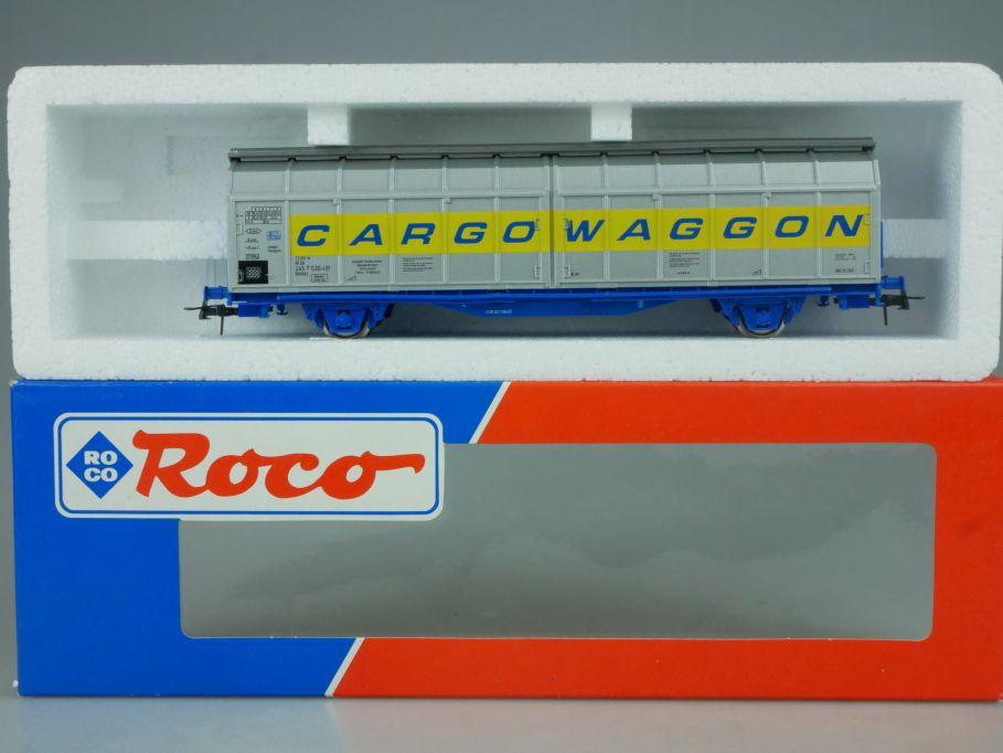 Roco H0 47458 Schiebewandwagen Cargo CARGOWAGGON DB Clubmodell 2002 + Box 114046