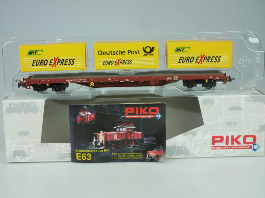 Piko H0 Containerwagen Euro Express Rgs 31 83 391 8 223-6 Post 95520 Box 114020