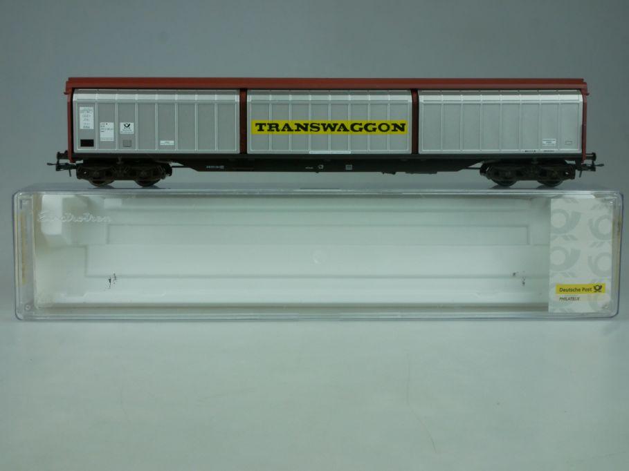 Electrotren H0 Schiebewandwagen TRANSWAGGON Dt. Post Habis 006749 Box 114028
