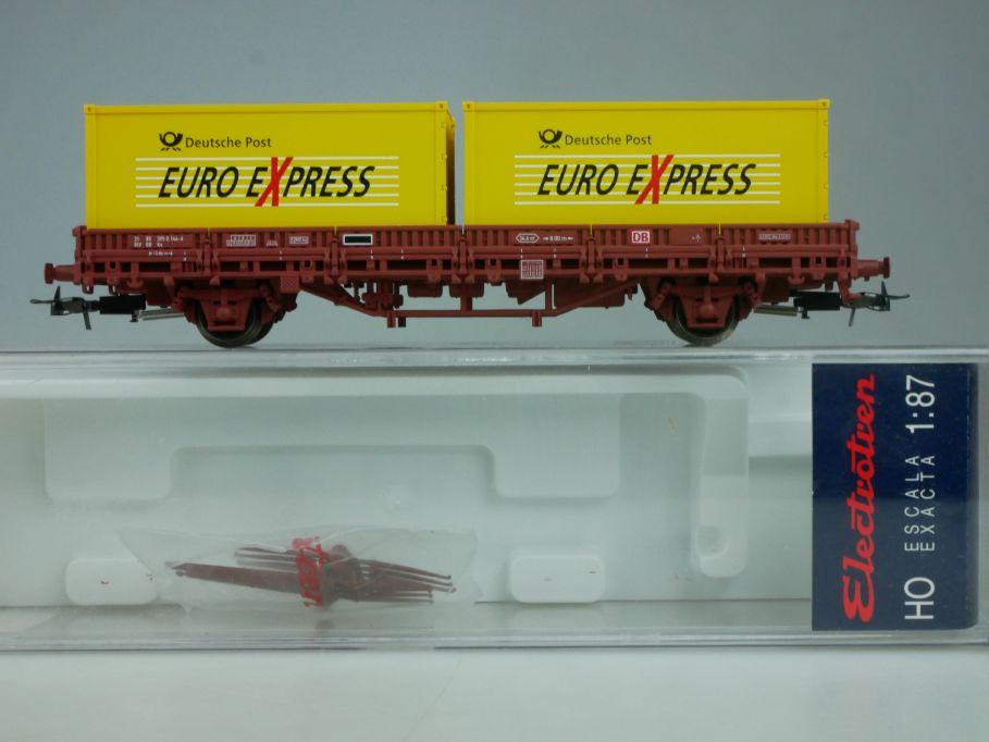 Electrotren H0 Containerwagen Euro Express Deutsche Post 1624K Box 114031
