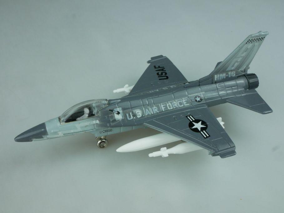 1/100 USAF - HM-16 US Air Force - diecast jet 16cm - Ertl force one model 113992